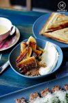Review of Tartine, Mascot - Caramelised banana, cream, dolce de leche, crumble, $9.90