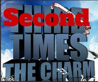 Secondtimesthecharm