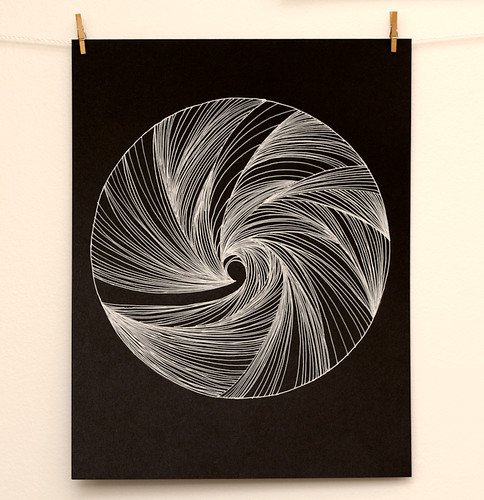 Spiral drawing