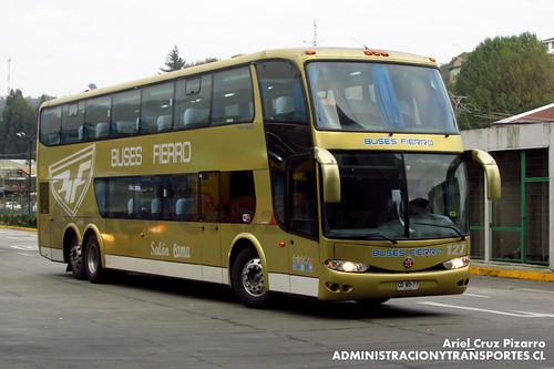 Buses Fierro - Puerto Montt - Marcopolo Paradiso 1800 DD / Scania (CDWD77)