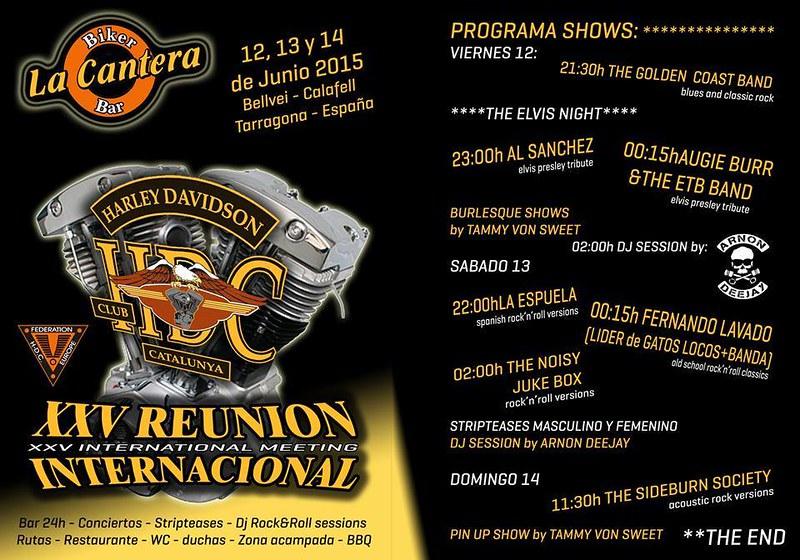 XXV Reunión Internacional HDC - La Cantera Bellvei