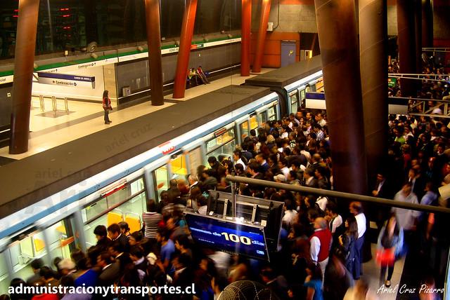Contención en Vicente Valdés (Metro de Santiago)