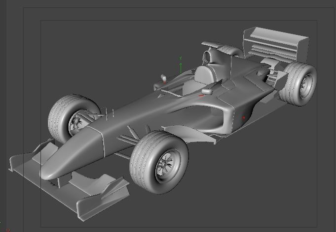 Free Classic Car Wallpaper Free F1 Car C4d And Obj Cinema4d Sources