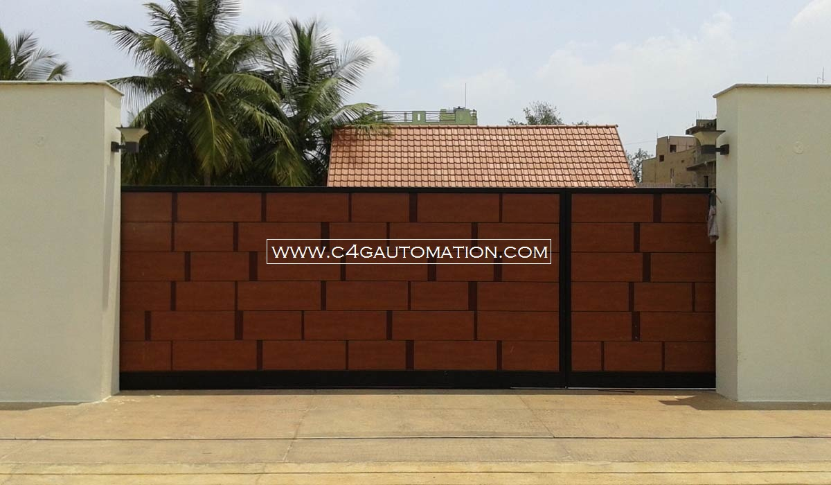 Sliding Gate For Garage Automatic Sliding Gates Manufacturers In Bangalore India