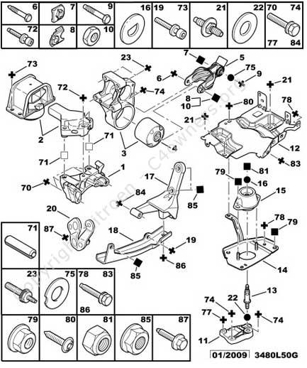 citroen c4 picasso engine diagram