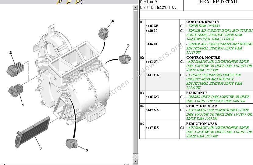 Citroen C4 Wiring Diagrams Download Electrical Circuit Electrical