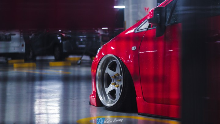 Stance Honda Civic with 326 Power Yabaking-9