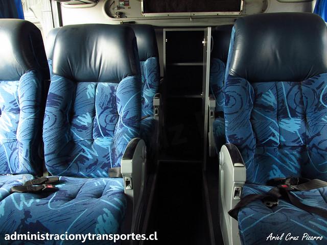 Andesmar Chile 03 | Interior 1° piso | Metalsur Starbus 1 405 - Mercedes Benz / DWCP15