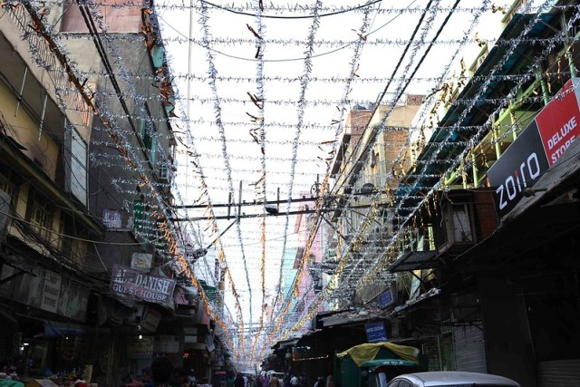 Photo Essay - The Ramzan Sky, Matia Mahal Bazaar