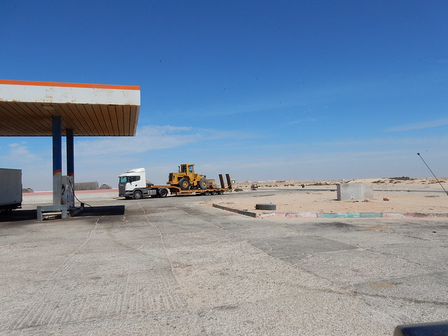 Western Sahara gas station