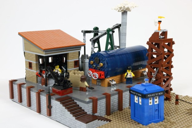 Steam Engine - Dr Who Layout 2015