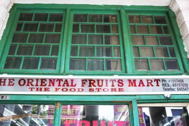 City Landmark - The Oriental Fruit Mart, Connaught Place