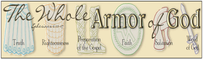 Armor of God Bookmarks