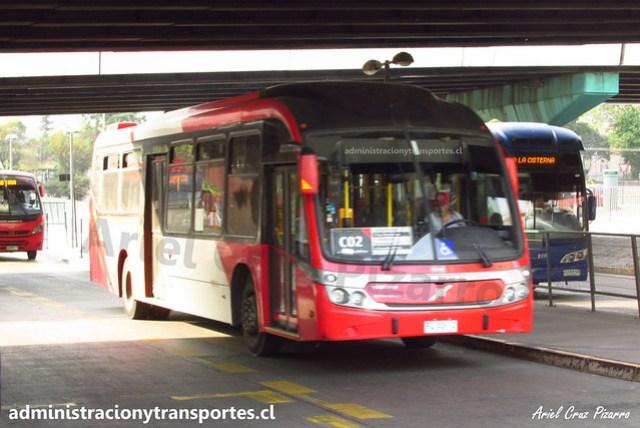 Transantiago C02   Redbus Urbano   Neobus Mega BRT 13.2 - Volvo / FLXS12