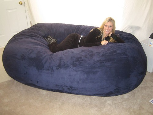 Sitzsack Riesig Huge Bean Bag Chair Lovesac Love Sac Comfy Sack Fombag