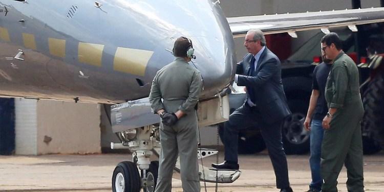 Ex-presidente da Câmara, Eduardo Cunha é preso pela Lava Jato em Brasília, Cunha preso