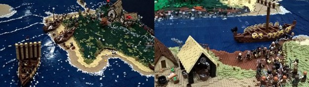 Bricktastic 2016 - Bricks To The Past - Viking Raid
