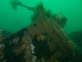 Collapsed Wreckage Lochaline weekend May 2016