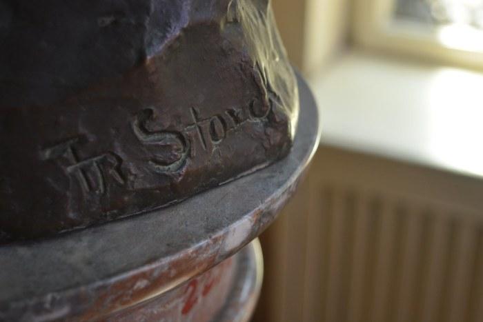 Frederic Storck's signature
