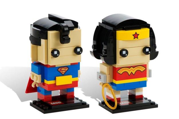 BrickHeadz: Superman and Wonderwoman