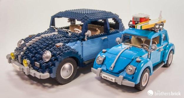 10252 Volkswagen Beetle with 10187 Volkswagen Beetle