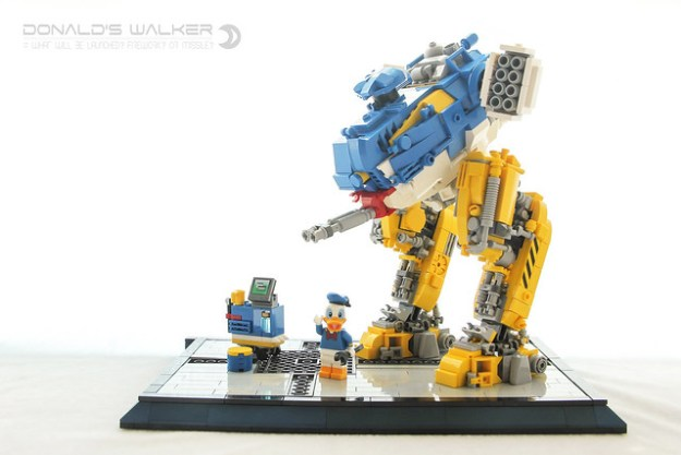 Donald's Mech Walker