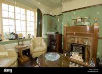 refurbished art deco 1930 s house interior lounge living ...