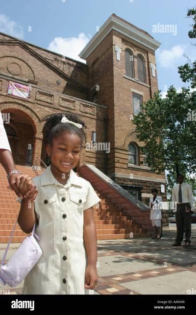 Birmingham Alabama 16th Street Baptist Church Black History Civil Stock Photo, Royalty Free ...