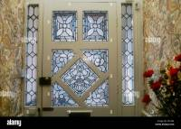 Decorative Edwardian Stained Glass Front Door Taken From