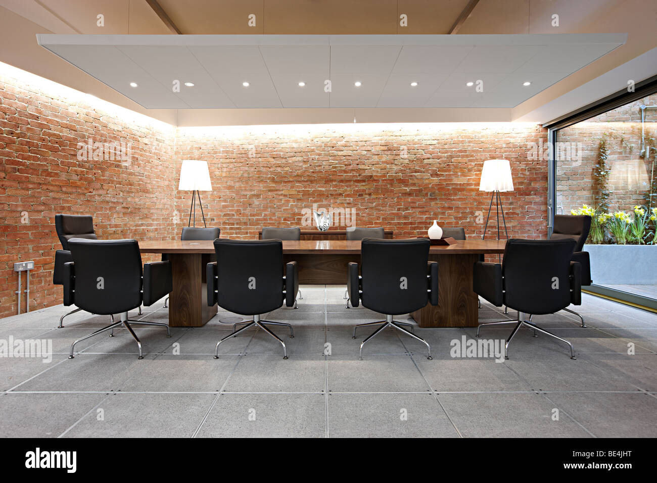 Meeting Room Tables Executive Meeting Room Conference Table Stock Photo 25917972 Alamy
