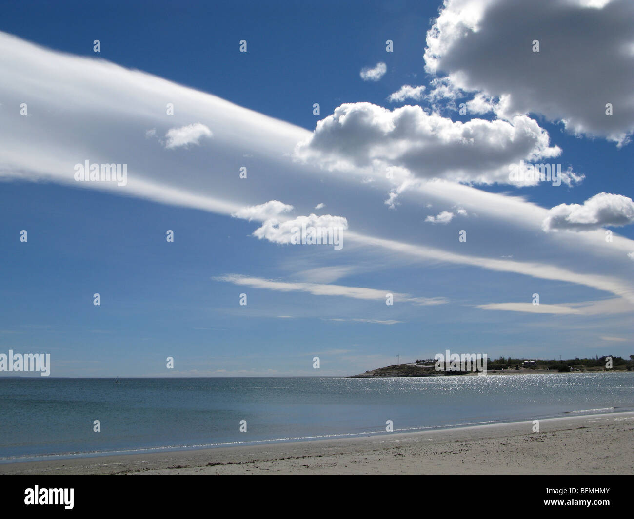 free stock photo of beach cloud formation clouds