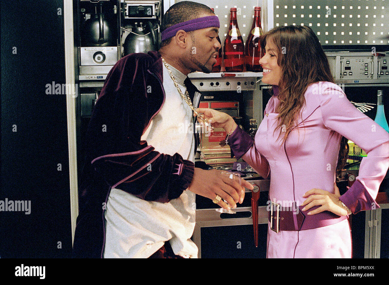 Sofia Vergara Soul Plane Method Man And Sofia Vergara Soul Plane 2004 Stock Photo