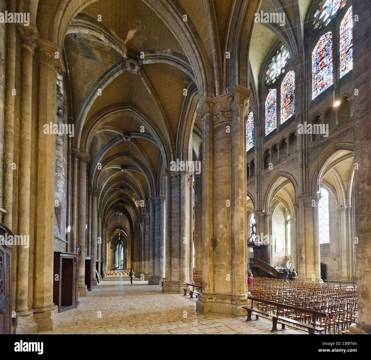 Interiors France Interior Chartres Cathedral France Stock Photos And Interior