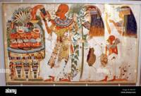 Egyptian wall paintings from The New Kingdom, facsimies of ...