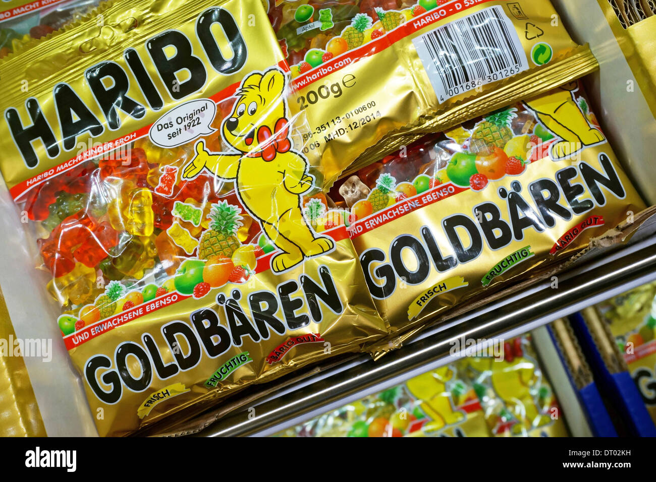 Haribo Produktpalette Germany: Haribo Store In The Center Of Bonn Stock Photo