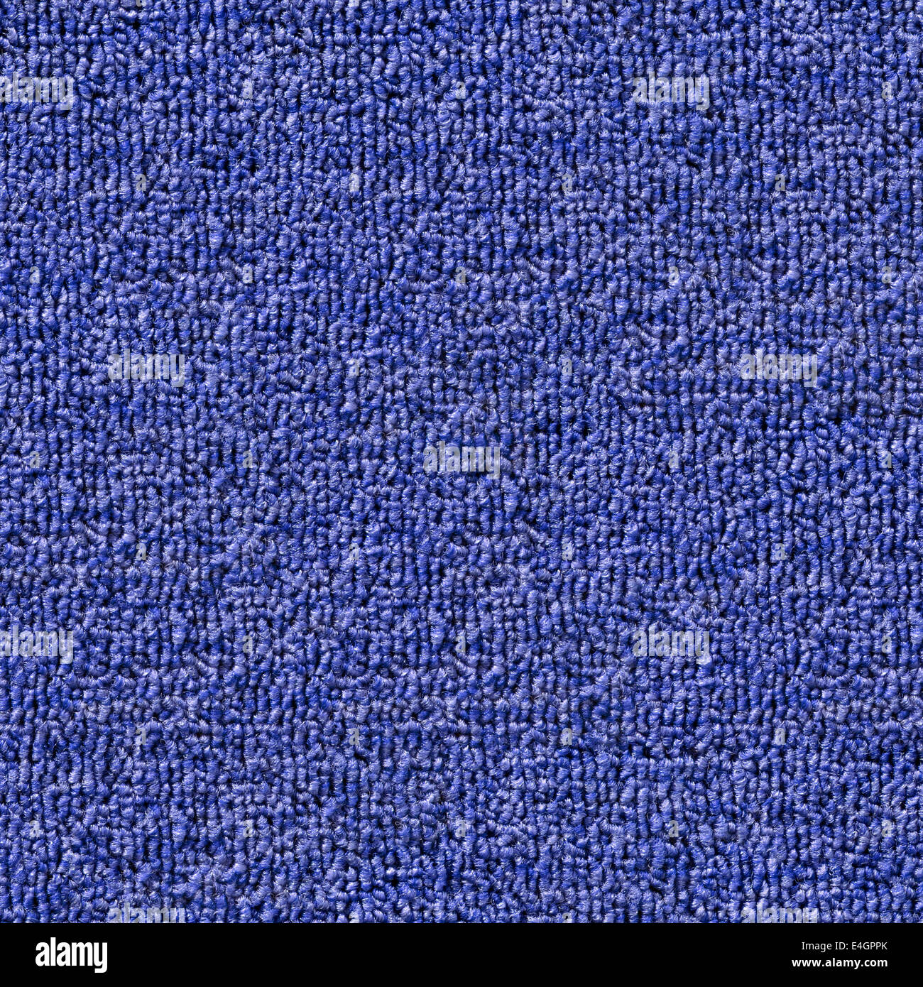Blue Carpet Highly Detailed Seamless Blue Carpet Texture Tile Stock Photo