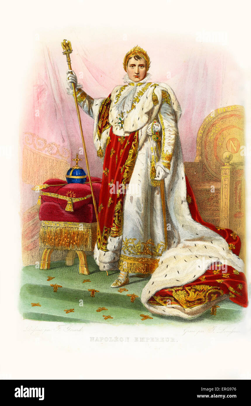 Kaiser Bonaparte Tapijt Napoleon Bonaparte As Napoleon I He Was Emperor Of The French
