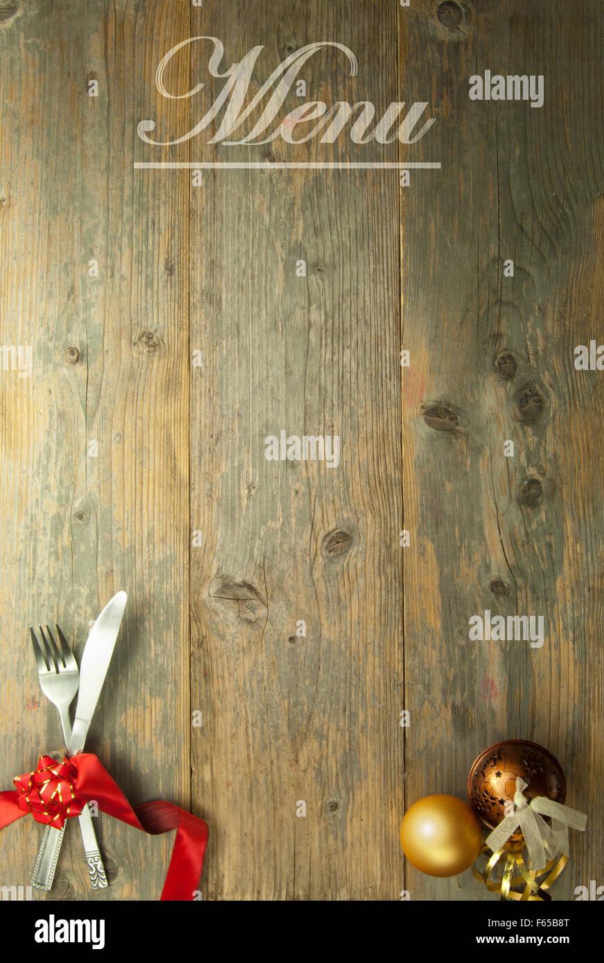 Black Wood Wallpaper Christmas Menu Background Stock Photo Royalty Free Image