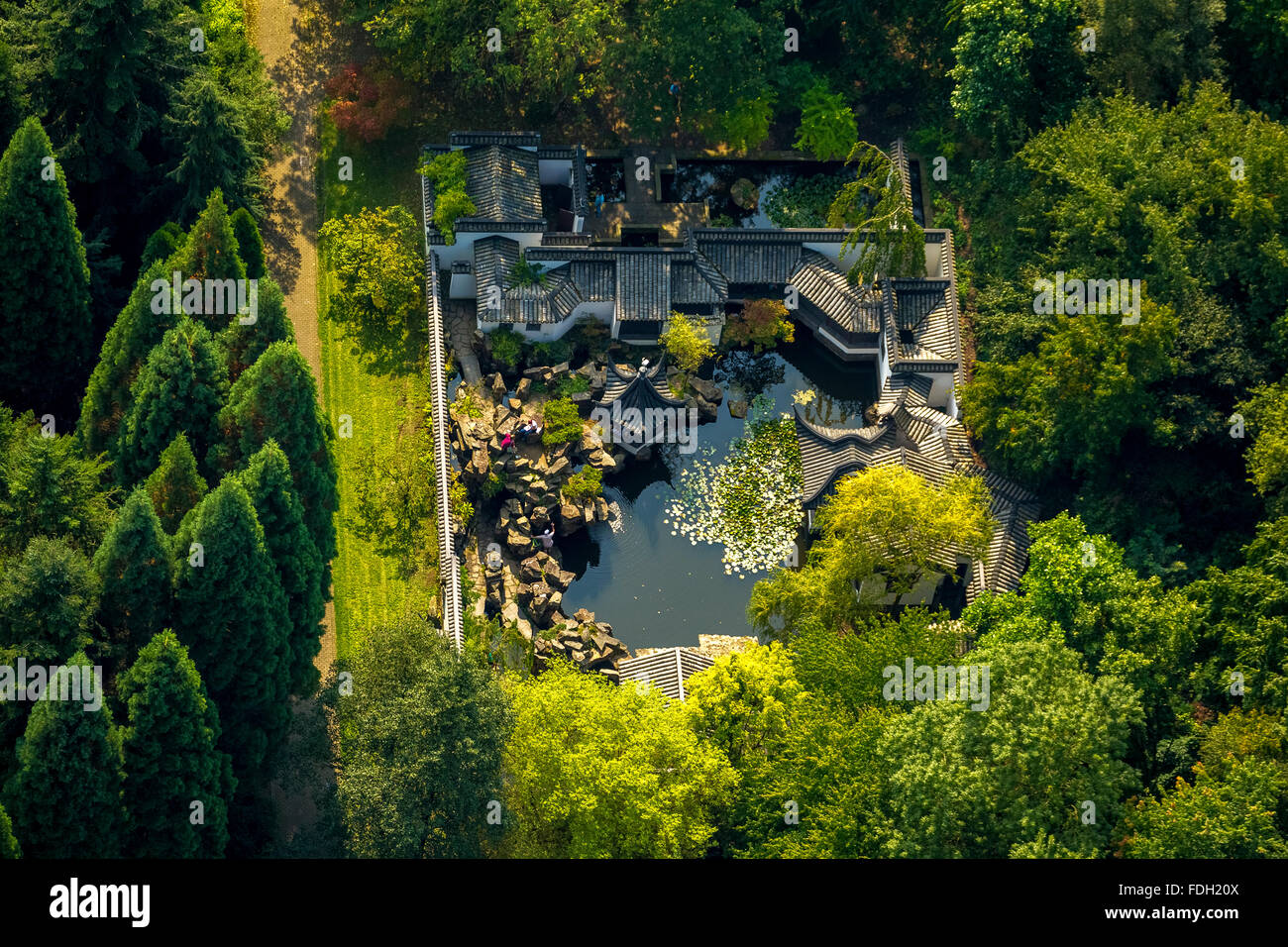 Chinesischer Garten Bochum Chinese Garden Bochum Germany Ruhr Stock Photos And Chinese
