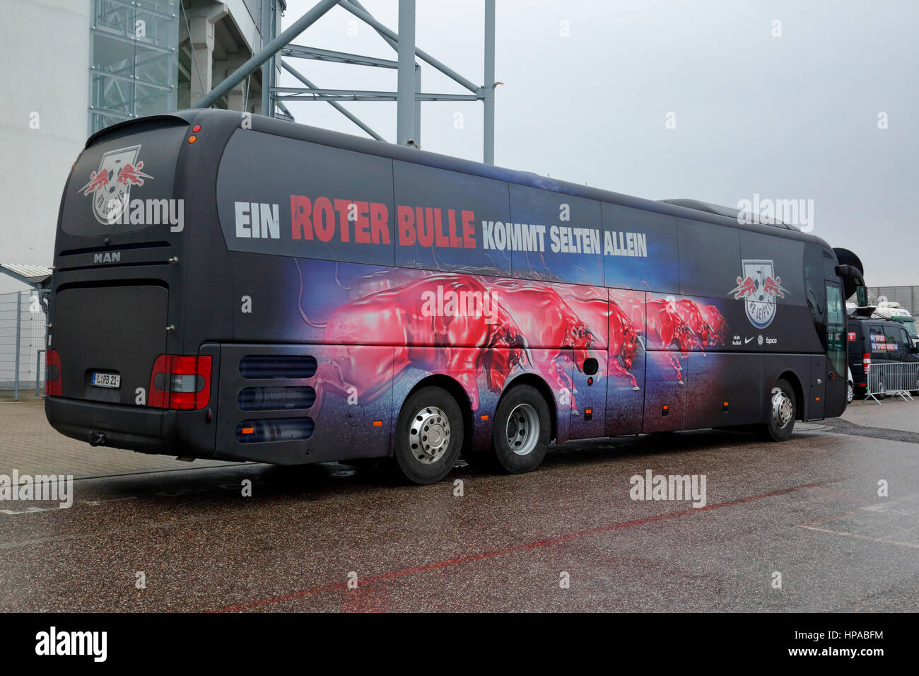 Leipzig Bus Sports Football Bundesliga 2016 2017 Borussia