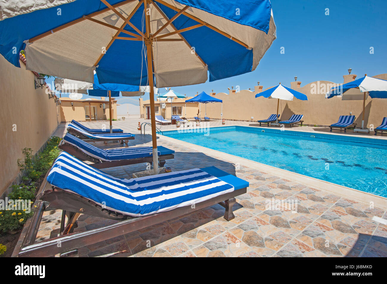Bagni Scogliera Nervi Large Swimming Pool Deck In Stock Photos And Large Swimming