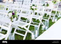 Beach Wedding Ceremony Set Up Stock Photos & Beach Wedding ...