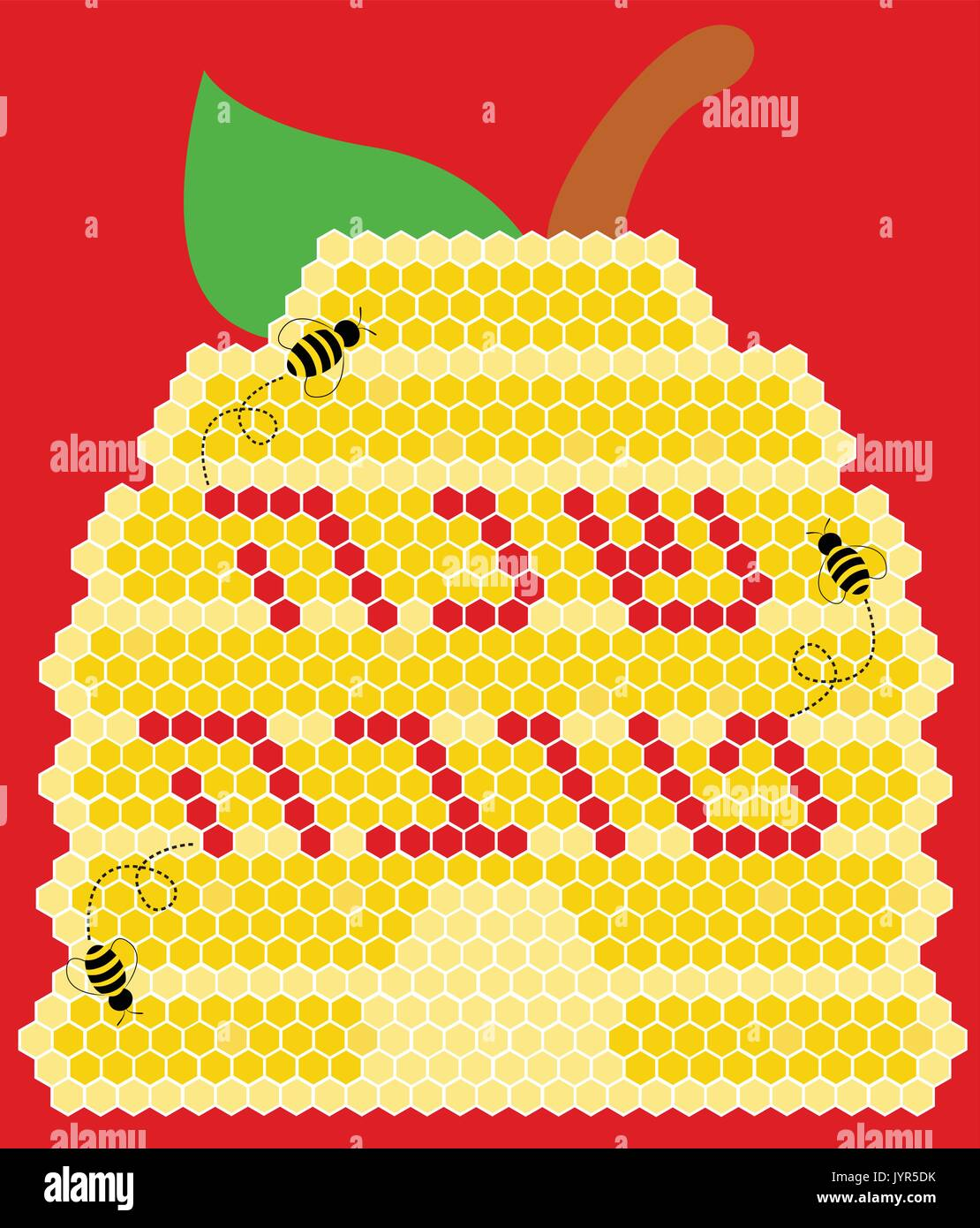 Bee Hive Pattern Stock Photos Auto Electrical Wiring Diagram Cradlepoint Vector Vectors U0026