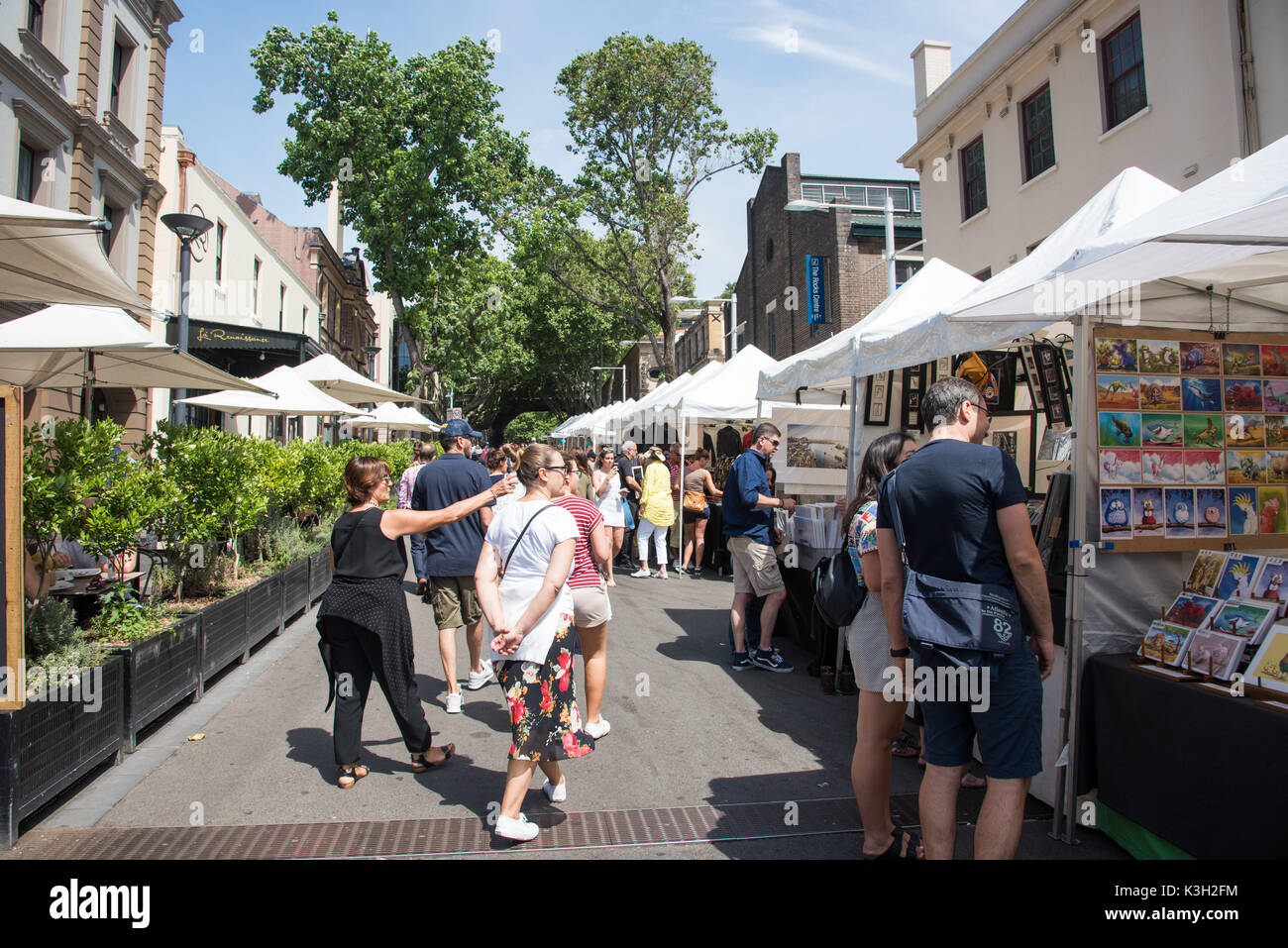 Sydney Shopping Outlets Tourists Shopping Australia Stock Photos And Tourists