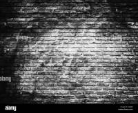 Black And White Brick Wall Stock Photos & Black And White