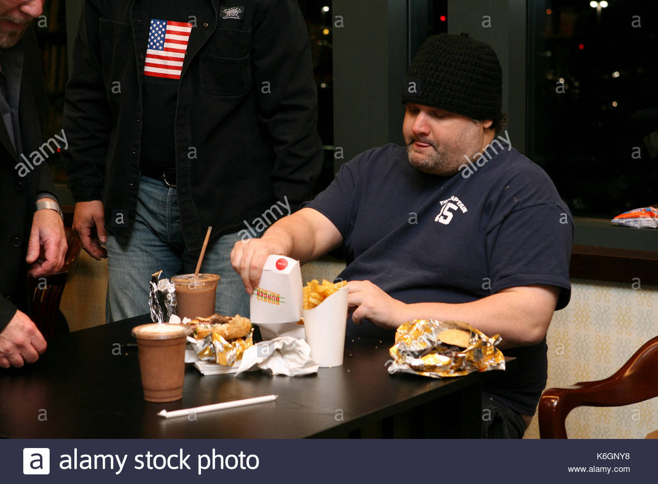 Artie Lange Hot Ones Fat People Eating Burgers Stock Photos And Fat People Eating