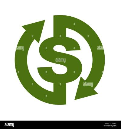 Cash back icon. Symbol is return of Money. Sign of a refund of Stock Vector Art & Illustration ...