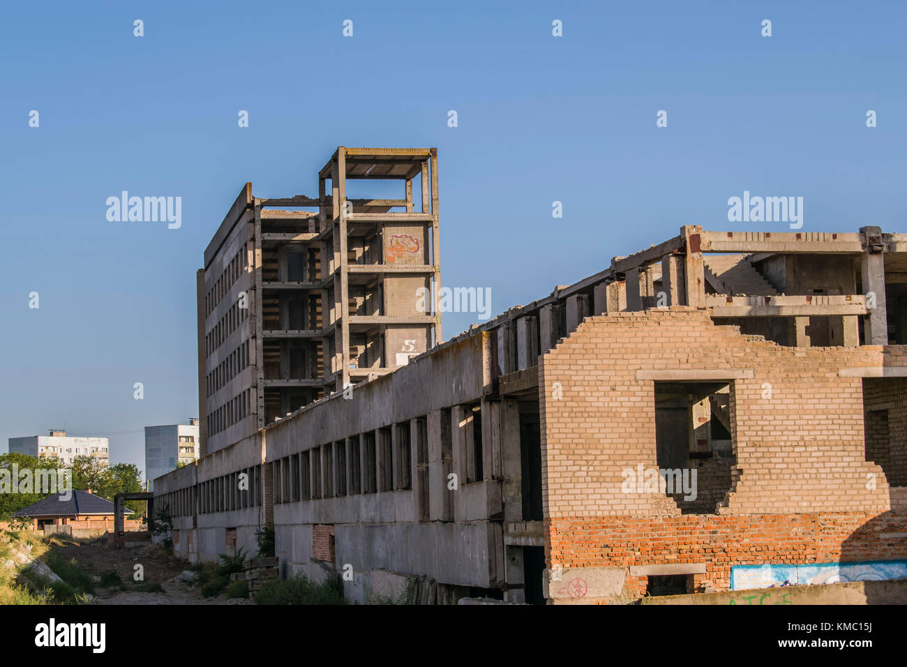 Construction Engineering Building And Developing Of Modern Civil Engineering Construction Industry