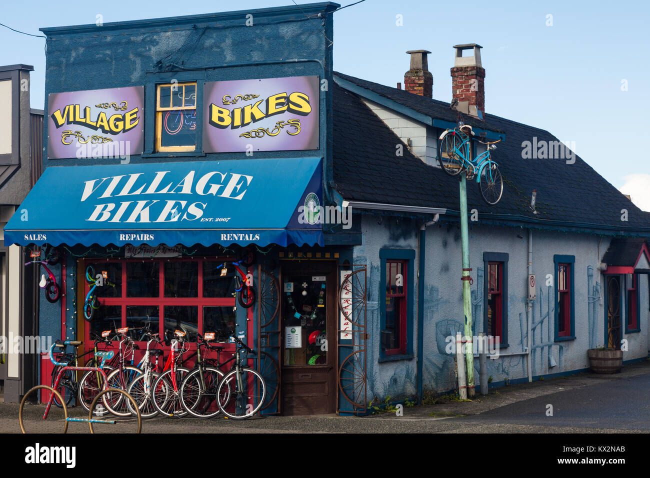 Bike Store Richmond Bike Rentals Stock Photos And Bike Rentals Stock Images Alamy