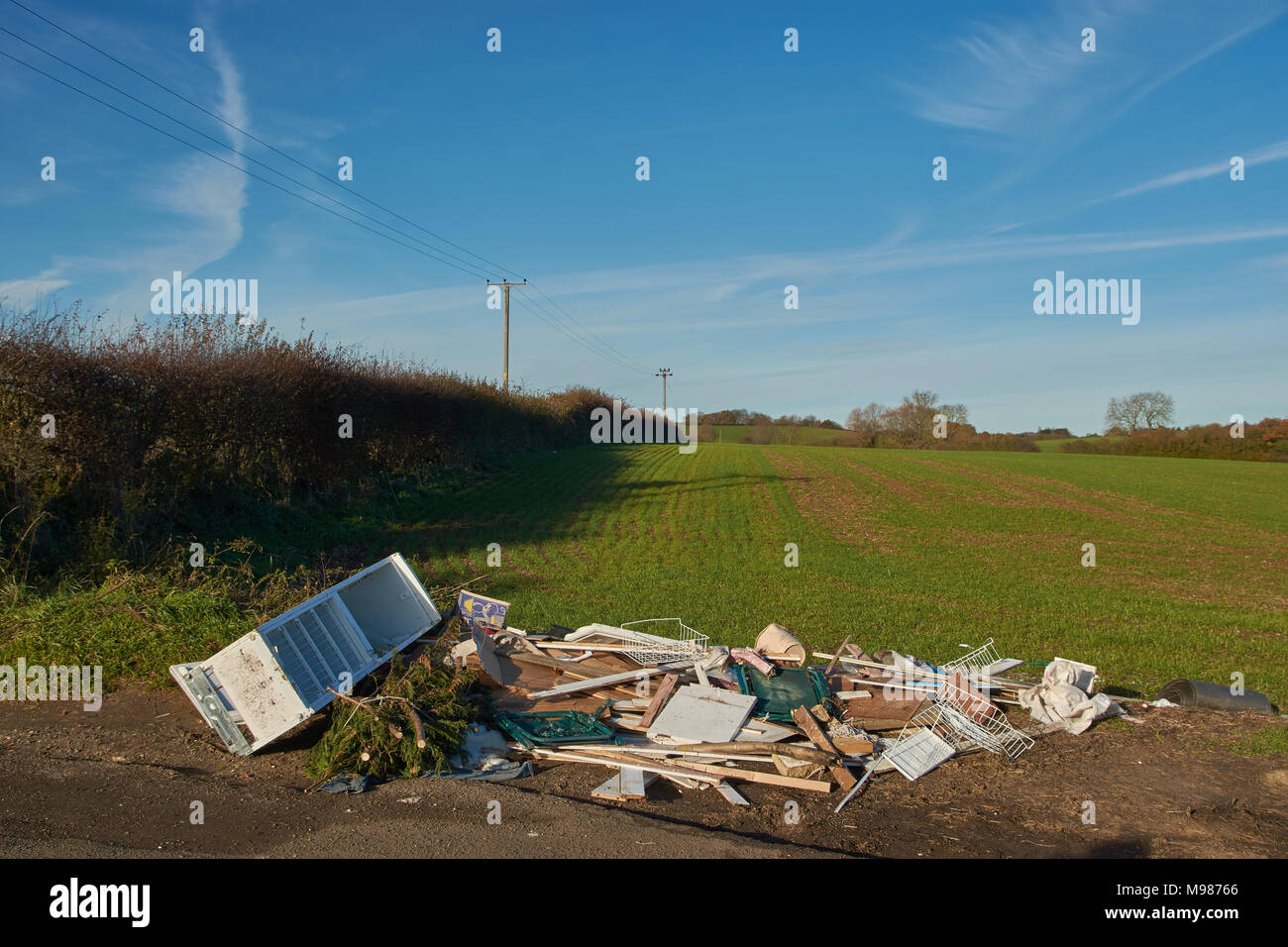 Recyclinghof Hamburg Niendorf Discarded Fridge Stock Photos And Discarded Fridge Stock